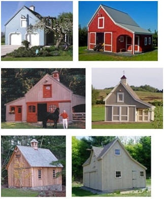 Pole barn plans country garage and workshop for Country barn plans