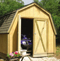 Drive-Through Pole Barn Building Project