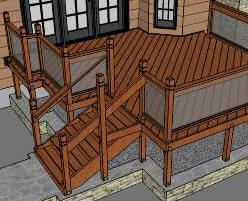 Download google sketchup for Sketchup deck design
