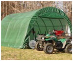 Instant Fabric Storage Shed