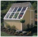 Solar Greenhouse Garden Potting Shed Kit