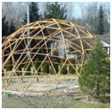 Do It Yourself Geodesic Garden Greenhouse Dome