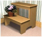 free Step Stool Woodwork Plans from FurniturePlans.com