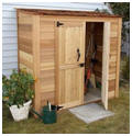 Lean To Garden Tool Closet or Shed