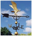 Golden Eagle Weathervane