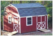 Barn Style All Purpose Shed Plans