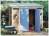Lean-To Tool and Garden Shed Plans