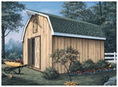 Barn Style Shed with Loft