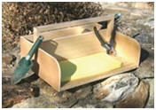 Do It Yourself Garden Kneeling Tool Tray