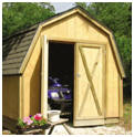 Drive-Thru Pole Frame Shed Plans