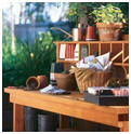 Do It Yourself Garden Potting Bench