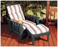 Outdoor Lounge Chair Project Plans