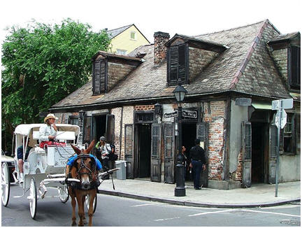 1772 New Orleans French Quarter Cottage Plans