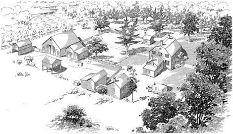 XH-FS-NJ-1826-Zabriski-Homestead Colonial Smokehouse Plans on colonial root cellar, colonial homestead, colonial smoking, colonial outhouse, colonial well, colonial burgess, colonial sites west virginia, colonial heritage,