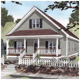 Front Porch Cottage Blueprints
