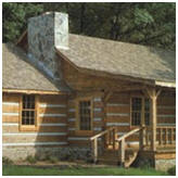Log Cabin Building Plans from Country Plans by Natalie