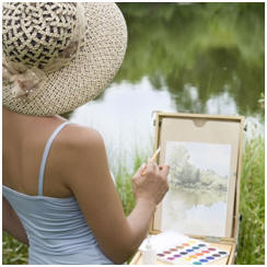 Learn to Watercolor. Enjoy Free Watercoloring Lessons
