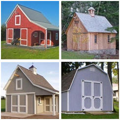 Small, Simple and Inexpensive Pole-Barn Plans