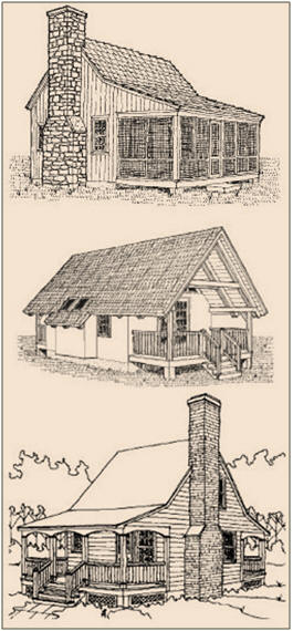 Free Cabin And Cottage Plans From Sheldon Designs