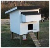 Free Chicken Coop Plans byPurina Mills - Photo: BackyardChickens.com