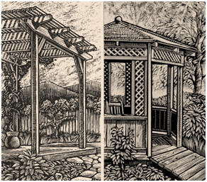 Free Do It Yourself Gazebo And Pergola Plans From The