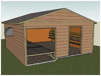Free Poultry House Plans from The Canada Plan Service - cps.gov.on.ca