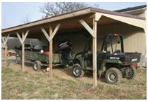 Lean-to Carport Building Guide from Extreme How-To Magazine