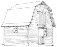 Free Small Barn Building Plans from Louisiana State University