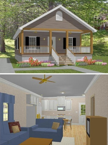 Y5-VaughnHome-Laura-Cottage Narrow Lot Home Plans For Vacation on home narrow lot house plans, home plans one-bedroom, home plans for beach house,