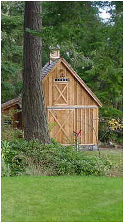 Small Barn Plans - Click to print complete, free construction drawings or to find inspiration for your new barn.