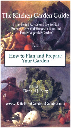 Free Kitchen Gardening Guide Books - Click to find six different guide books on all aspects of growing and harvesting vegetables, fruit and herbs.