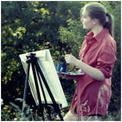 Today's Free Watercolor Painting Lessons, Demonstrations, Tips and Techniques: DIY Plein Air Painting Tutorials