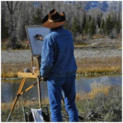 Today's Free Art Lessons, Demonstrations, Tips and Techniques: Drawing: Plein Air Painting