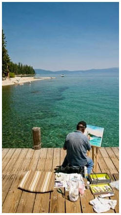 Enjoy Plein Air painting, drawing and watercoloring. Click to read free lessons and how-to ideas.