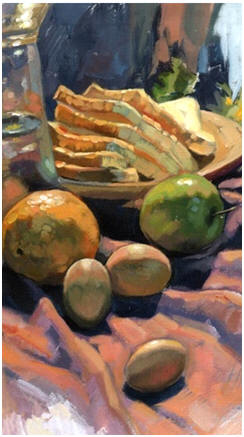 Create Beautiful Still Life Paintings Yourself - Follow any and all of dozens of free, online demos to learn how to work with easy, quick-drying, inexpensive acrylic paint on canvas or paper.