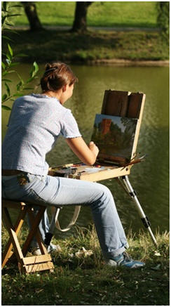 Enjoy Painting Landscape Scenes - Find out how you can create beautiful landscape, nature and seascape scenes with oil paint on canvas. Click to find and follow any of dozens of free online lessons by talented artists.