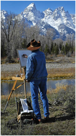 Celebrate Nature With Your Paintings - Click on the mountains to learn how you can create beautiful landscape, seascape and nature scenes with oil paint on canvas. You'll find dozens of free, how-to demonstrations, tips and video lessons by talented landscape artists.