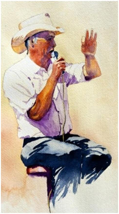 Create perfect portraits in watercolor paintings. Click to find free lessons and watercolor artists' step-by-step demonstrations.