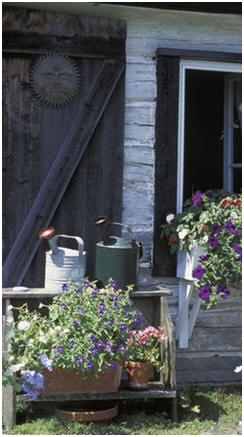 Need a New Garden Shed or Potting Shed? Click on the shed to find dozens of the best free plans on the Internet.