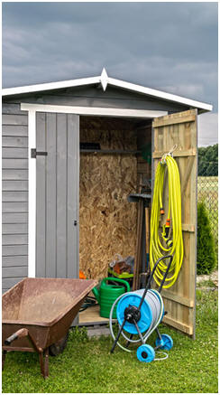 Outdoor Closet And Backyard Storage Hutch Designs   Just Click To Find A  Dozen Different Outdoor ...